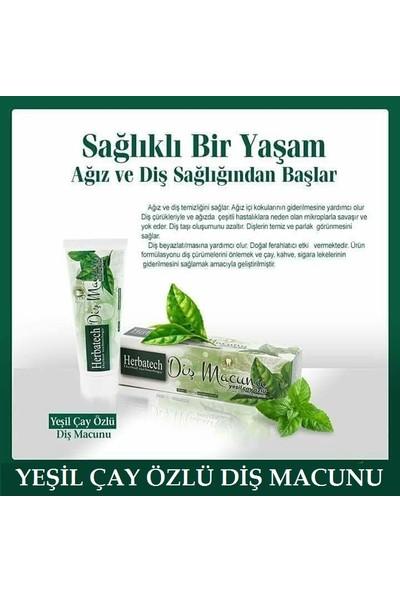 Herbatech Yeşil Çay Özlü Diş Macunu