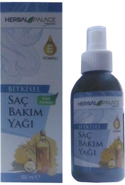Herbal Palace E Vitaminli Bitkisel Saç Bakım Yağı 150 ml