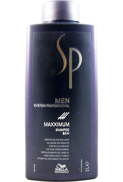 Wella Sp Men Maxximum Dökülme Önleyici Şampuan 1000 ml