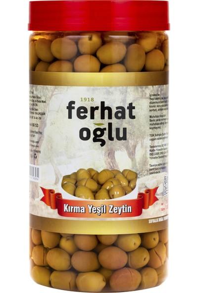 Ferhatoğlu Yeşil Kırma Zeytin 1 kg