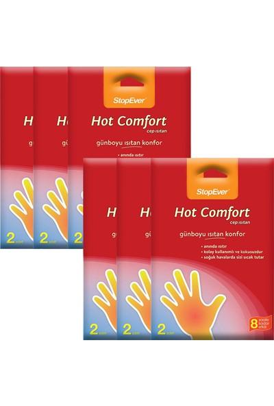 Stopever Hot Comfort El Isıtan - 12 Adet (6x2'Li Ekonomik Ambalaj)