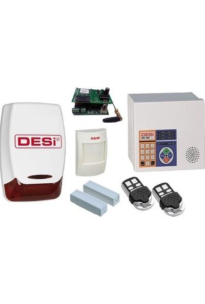 Desi Hs-102 Metaline Gsmli Alarm Sistemi