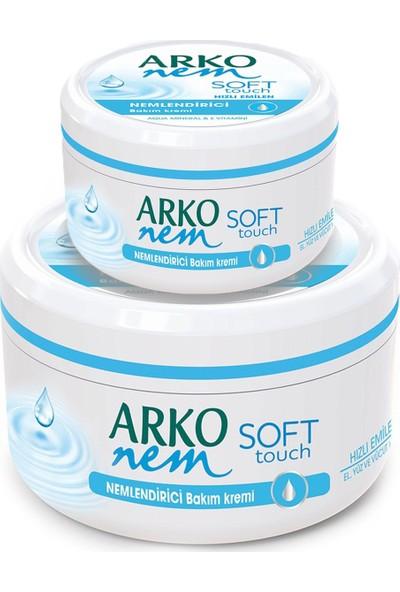 Arko Nem Soft Touch Nemlendirici Bakım Kremi 300 ml & 100 ml Fırsat Paketi