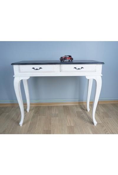 Masifart Granit Mermer Desenli Dresuar Beyaz 120 cm