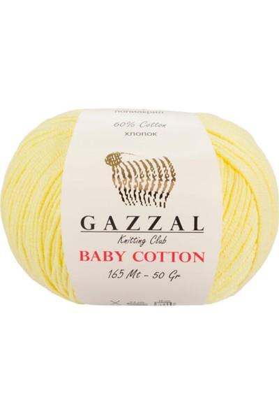 Gazzal Baby Cotton 3413 Amigurumi İpi