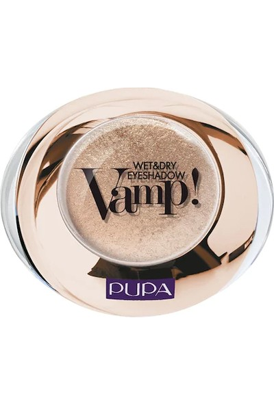 Pupa Vamp Wet & Dry Eyeshadow 001 Gold