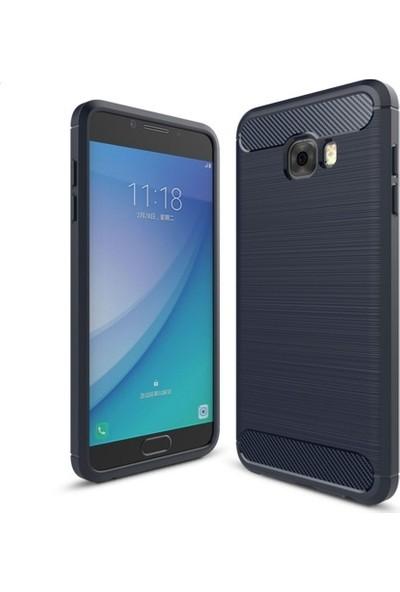 Telefonaksesuarı Samsung Galaxy C5 Kılıf Ultra Koruma Elite Silikon