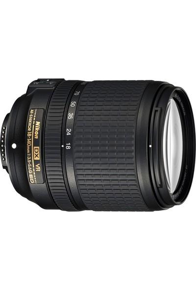 Nikon Af-S 18-140Mm Vr Objektif (Distribütör Garantili)