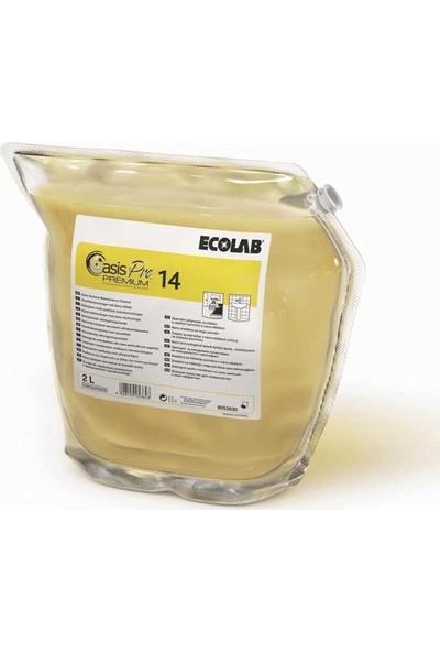 Ecolab Oasis Pro 14 premium Nano Yüzey Bakım Ürünü 2lt