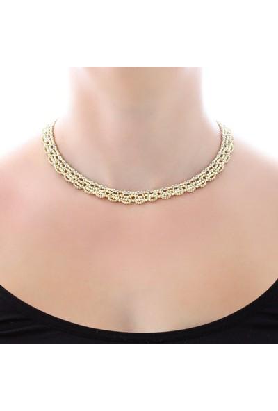 Myra Gold Altın Toplu Gerdanlık (Kly1598)