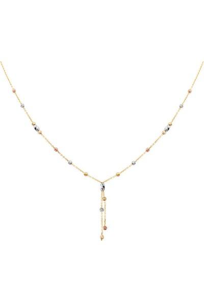 Myra Gold Altın Toplu Zincirli Kolye (Kly2730)