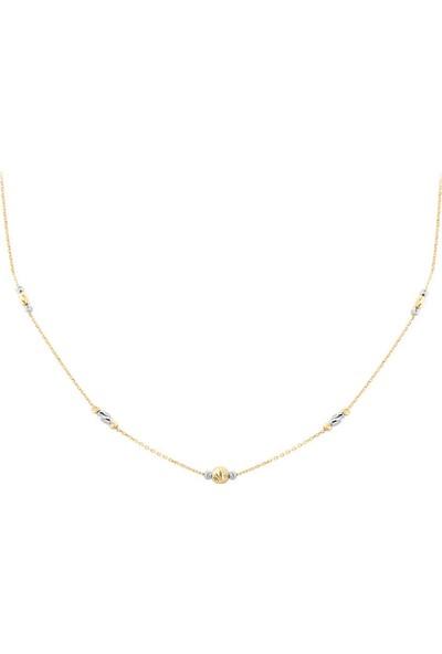 Myra Gold Altın Toplu Zincirli Kolye (Kly2775)