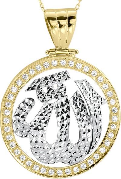 Myra Gold İslami Motifli Kolye (Kuc0015)