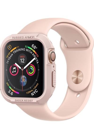 Spigen Apple Watch Seri 4 (40mm) Kılıf Rugged Armor Rose Gold - 061CS24481