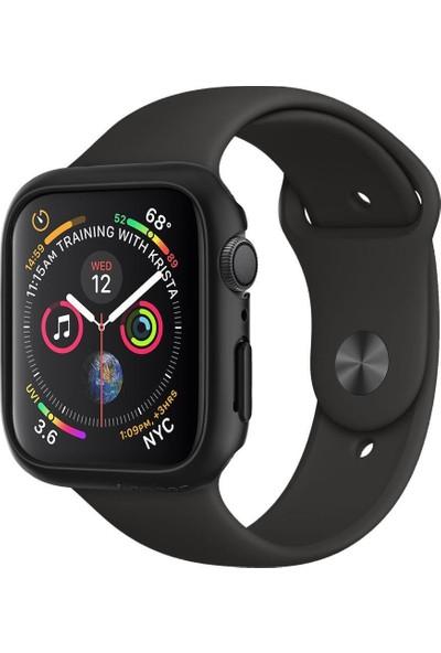 Spigen Apple Watch Seri 4 (40mm) Kılıf Thin Fit Black - 061CS24484