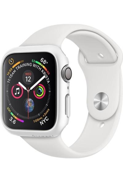 Spigen Apple Watch Seri 4 (40mm) Kılıf Thin Fit White - 061CS24485