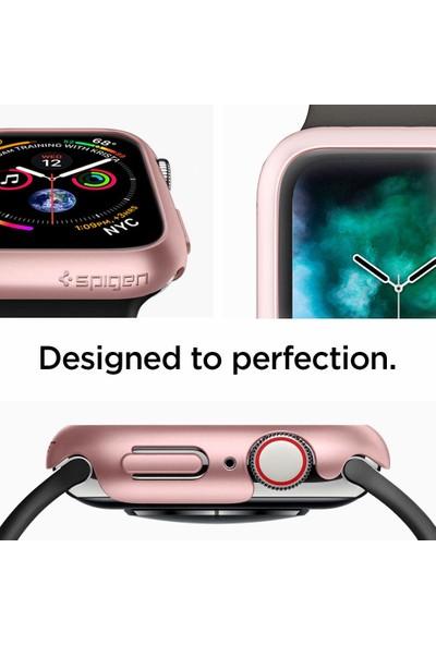 Spigen Apple Watch Seri 5/4 ile Uyumlu (40mm) Kılıf Thin Fit Rose Gold - 061CS24486