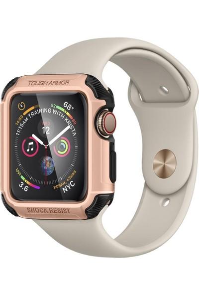 Spigen Apple Watch Seri 4 (44mm) Kılıf Tough Armor Rose Gold - 062CS24479