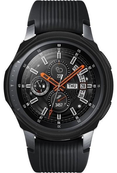 Spigen Galaxy Watch (46mm) Kılıf Liquid Air Black 603CS25100