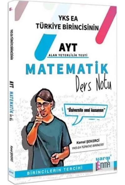 Yargı Lemma YKS AYT Matematik Ders Notu-Yeni - Kemal Şekerci
