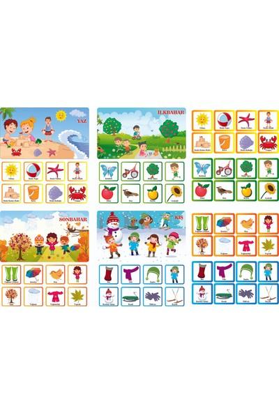 Laco Games Mevsimleri Öğreniyorum Eğitici Zeka Oyunu - Aile Oyunu