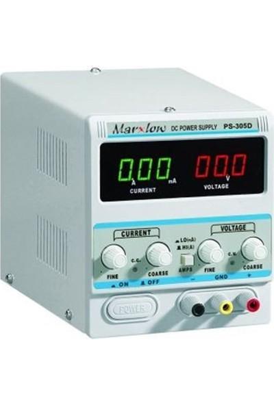 Marxlow PS-305D Güç Kaynağı 0-30V 0-5A