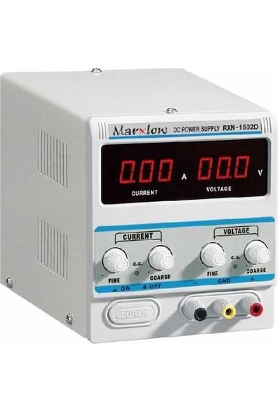Marxlow 0-15V 2A Ayarlı Güç Kaynağı RXN-1502D