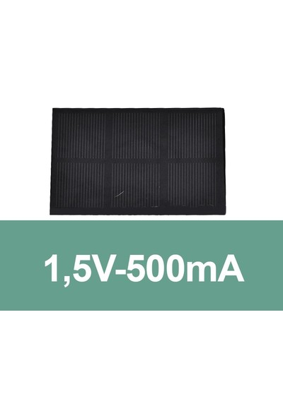 Robocombo 1,5V-500mA Güneş Paneli Solar Panel
