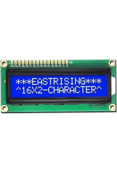 Robocombo 16x2 Karakter LCD Ekran - Mavi