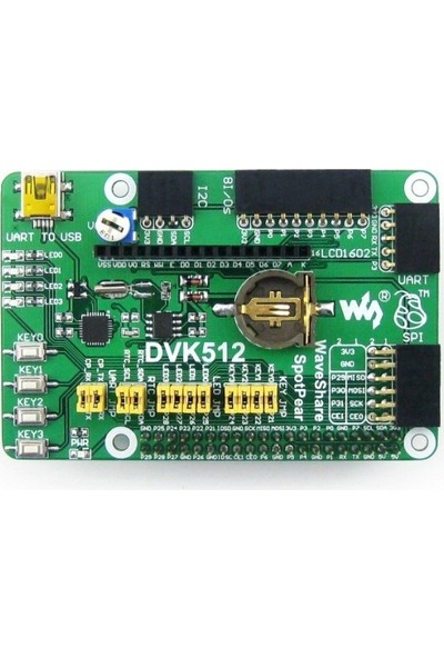 Waveshare DVK512 Raspberry Pi A+ B+ 2 3 Aksesuarı