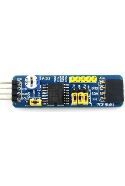 Waveshare PCF8591 AnalogDijital Dönüştürücü Modül