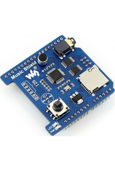 Waveshare Arduino Müzik Shield - VS1053B