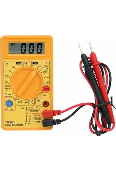 Marxlow DT-830D Dijital Multimetre Sarı