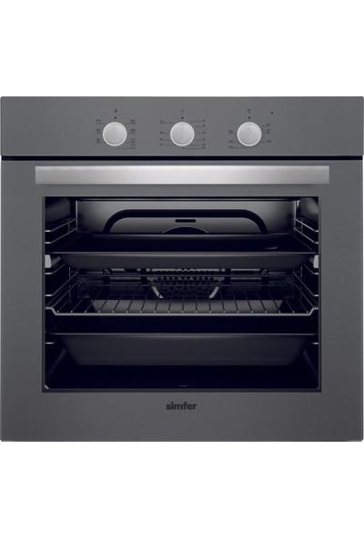 Simfer Silver Ankastre Set (7324 8 Fonksiyon Pop Up Düğme Fırın + 3537 Gaz Kesme Emniyetli Silver Cam Yüzey Ocak + 8613 Dokunmatik Kontrol Panelli Uzaktan Kumandalı Davlumbaz)