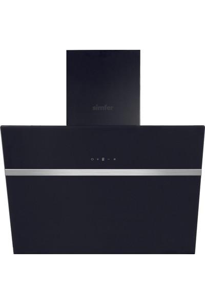 Simfer Siyah Vitroseramik Ankastre Set (7307 8 Fonksiyon Pop-Up Düğme Fırın + 3903 Vitroseramik Dokunmatik Ocak + 8611 Uzaktan Kumandalı Davlumbaz)