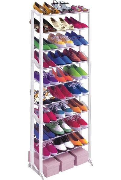 Bundera Shoesbun 10 Katlı Pratik Ayakkabılık