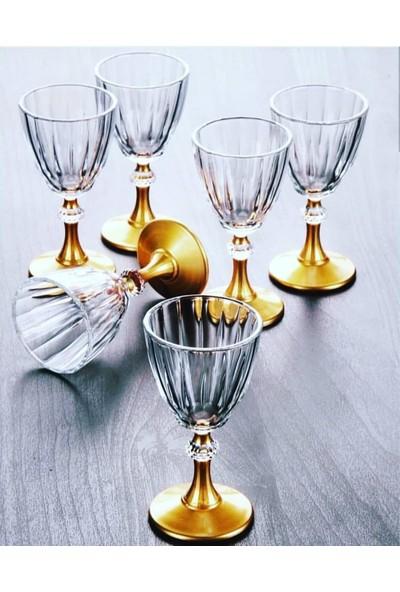 Paşabahçe Diamond Gold Kahve Yanı Su Bardağı 6 Adet