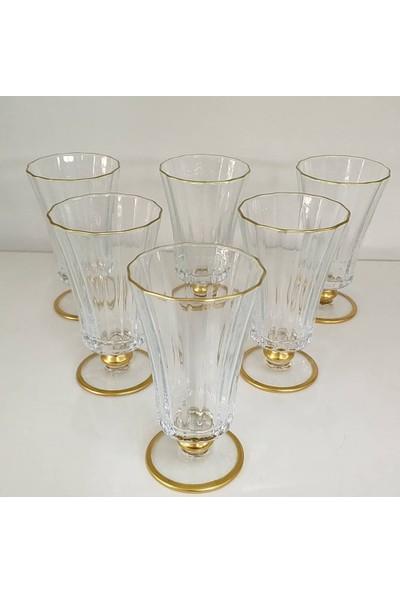 Paşabahçe Diamond Gold 6 Parça Bardak Seti Kahve Yanı Su Bardağı