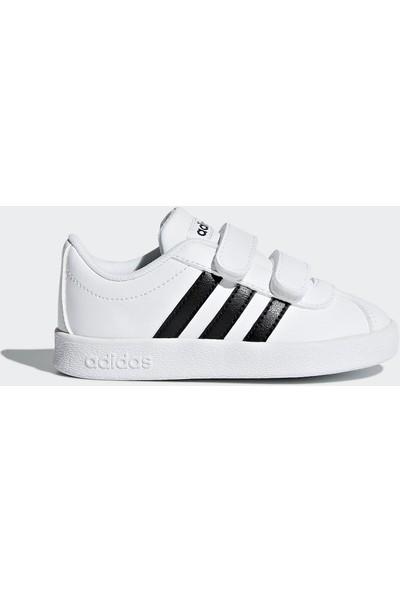 adidas Bebek Günlük Ayakkabı Spor Beyaz Db1839 Vl Court 2 Cmf inf
