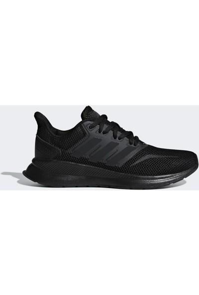 Adidas Genç Koşu Ayakkabısı Spor Siyah F36549 Runfalcon K