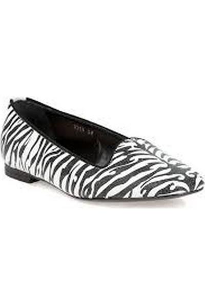 John Richmond Kadın Ayakkabı Babet