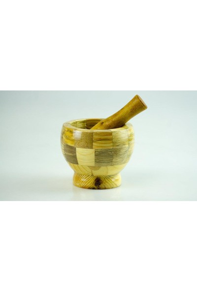 Penguen Png 1463 Bambu Havan Tokmaklı Ezme Dövme 10X11.50 Cm