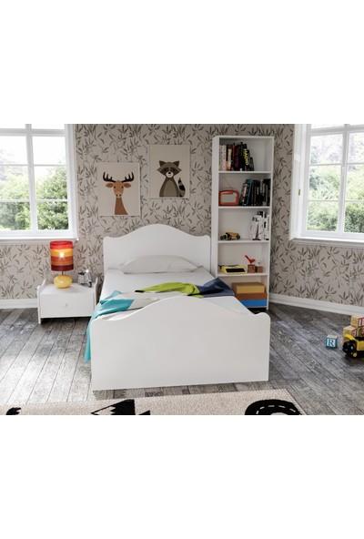 Baby Darling Zebra Çocuk Odası Beyaz (Mdf) 5 Parça