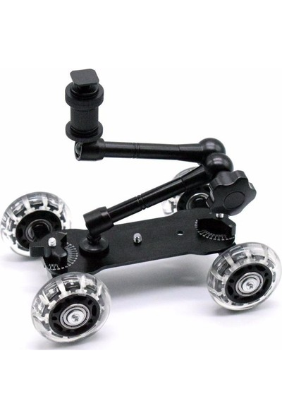 "Soundizayn Dolly Slider Skater Ve 11"" Magic Arm Set"