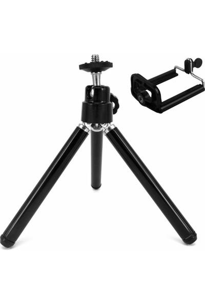 Soundizayn Mini Teleskopik Cep Telefonu Kamera Tripodu + Telefon Aparatı