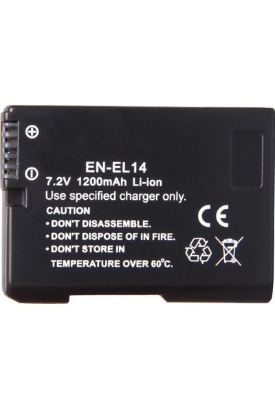 Seyu D5300 İçin EN-EL14 ENEL14 Batarya