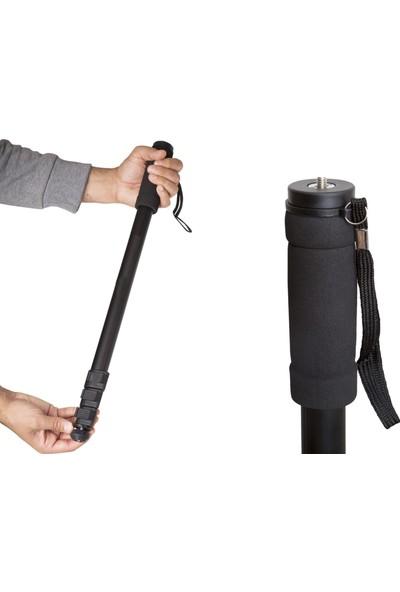 Seyu Dslr Fotoğraf Makineleri İçin 170cm Monopod 5 Kg Taşıma