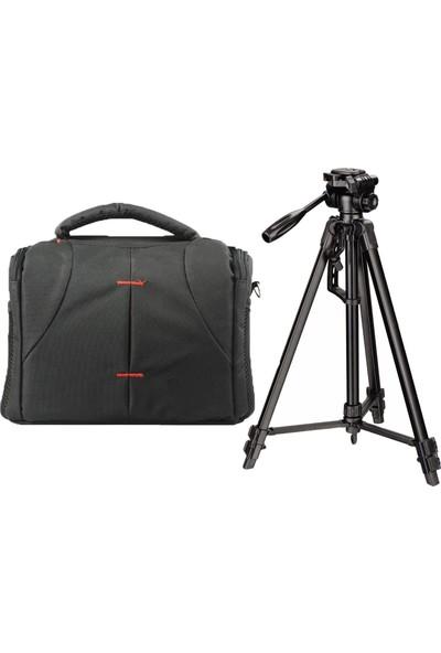 Seyu 760D Fotoğraf Makinesi İçin 145cm Tripod + Set Çanta