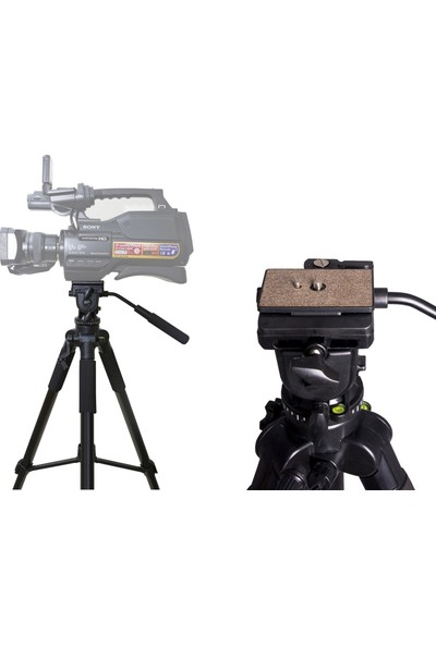 No Name Dslr Fotoğraf Makineleri İçin 170cm Video Tripodu