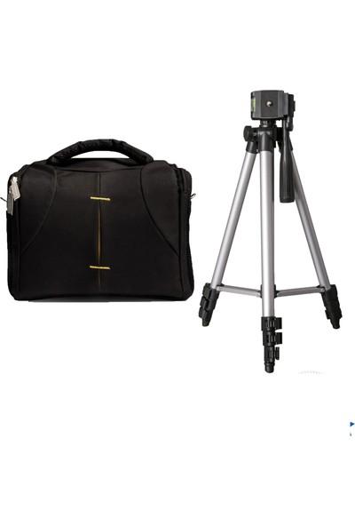 Seyu D7000 Fotoğraf Makinesi İçin 135cm Tripod + Set Çanta